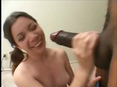 cute young cutie for an aged darksome fellow -