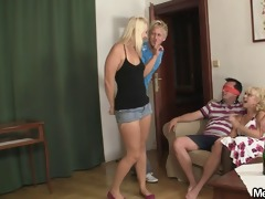 naughty gf and his parents having sex